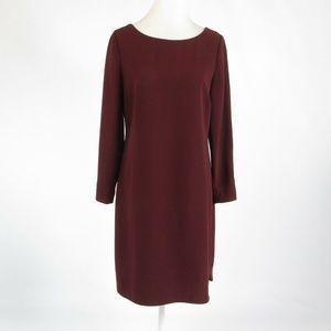 Banana Republic brown sheath dress 12